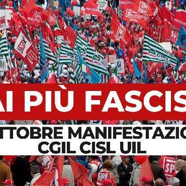 Casa dei Diritti Sociali partecipa alla manifestazione antifascista di sabato 16 ottobre a San Giovanni